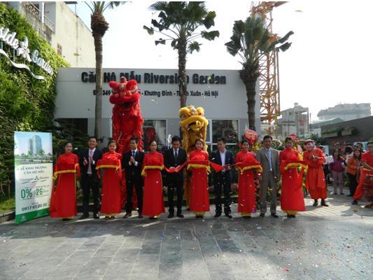 Lễ Khai trương căn hộ mẫu Dự án 349 Vũ Tông Phan Riverside Garden