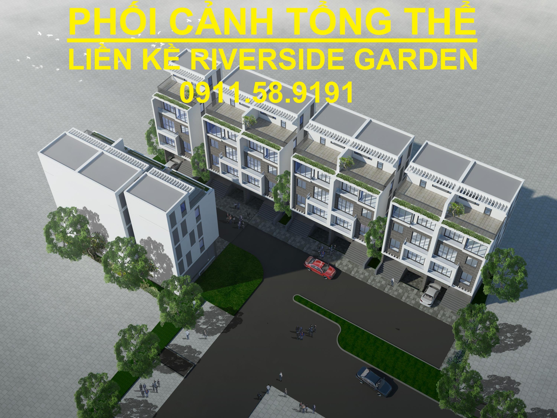 Khu Biệt thự Liền kề Dự án Riverside Garden 349 Vũ Tông Phan