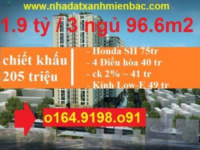 Chung cư 283 Khương Trung – Star Tower Ngã Tư Sở giá chỉ 24 Triệu / m2