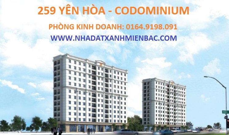 Tổng quan chung cư 259 Yên Hòa Codominium