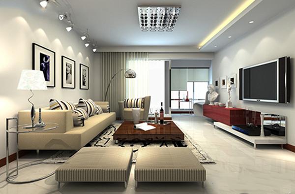 Phòng khách là trái tim của căn hộ, là nơi giao thiệp, đối ngoại và sinh hoạt chung