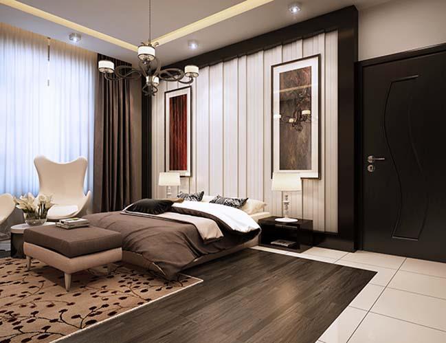 Phòng ngủ là nơi tĩnh tâm, khôi phục hoàn toàn sức lực cho chủ nhân chung cư