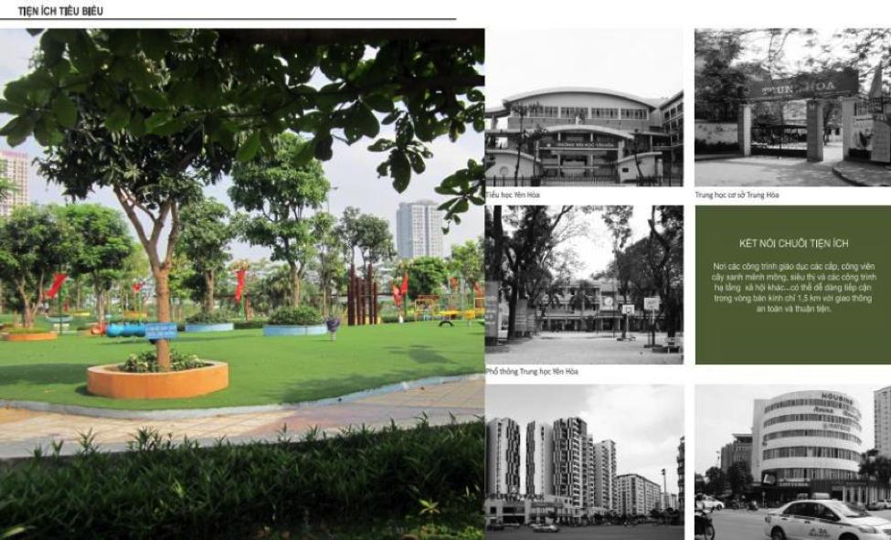 Tiện ích chung cư 259 Yên Hòa - Codominium