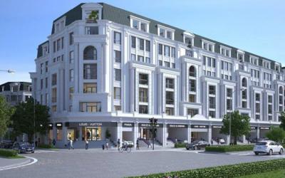 Liền kề Nhà phố Thương mại Văn Phú the Victoria Hà Đông DT từ 75m2 giá 36.5 triệu / m2