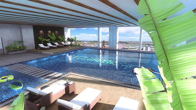 Bể bơi 4 mùa tại Eco Green City