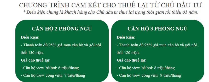 Cam kết cho thuê Eco City Việt Hưng