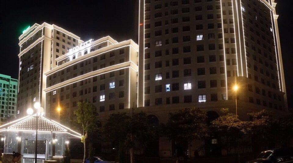 Chung cư Eco City Việt Hưng về đêm
