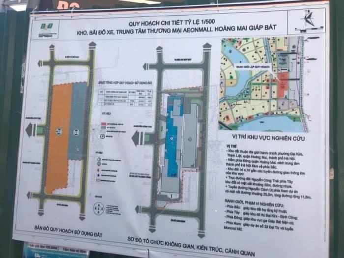 Bảng thông tin Chính thức công bố Đại siêu thị AEON Mall liền kề Chung cư Eco Lake View
