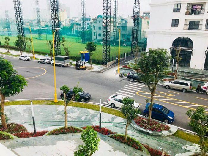Ảnh thực tế giao lộ HH02 với HH03 Chung cư Eco Lake View
