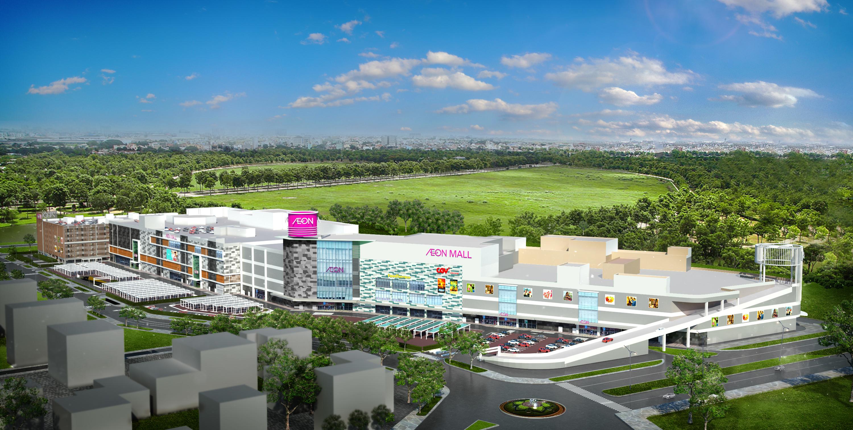 Đại siêu thị AEON Mall Hoàng Mai liền kề Dự án Eco Lake View