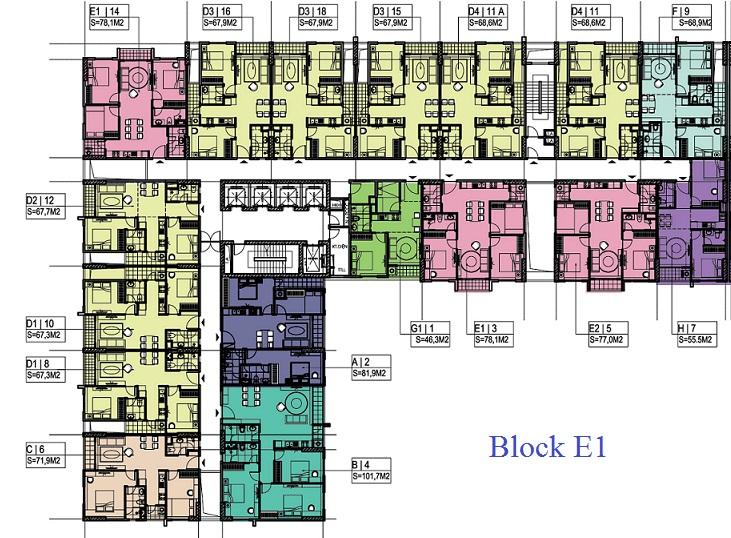 Chung cư Ecohome Phúc Lợi block E1