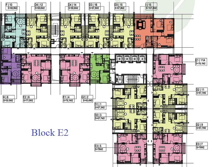 Chung cư Ecohome Phúc Lợi block E2