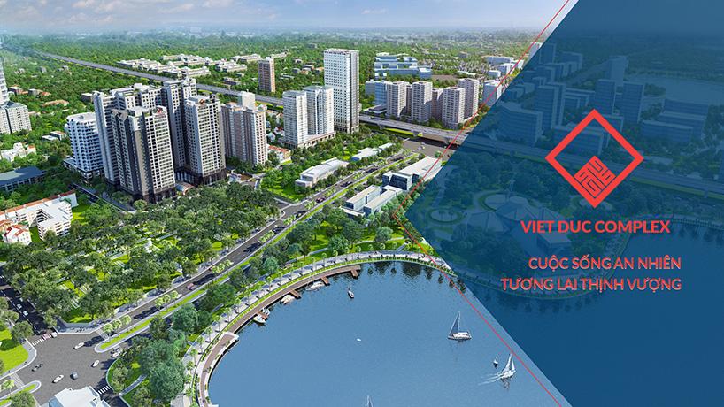 Phối cảnh Tổng thê Dự án Việt Đức Complex
