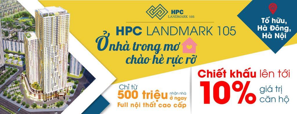 Dự án Chung cư HPC Landmark 105 chào hè rực rỡ