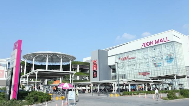 Đại siệu thị AEON Mall nân giá trị toàn khu vực trong đó có Dự án HPC 105