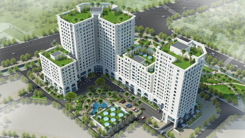 Phối cảnh Chung cư Eco City Việt Hưng - Long Biên