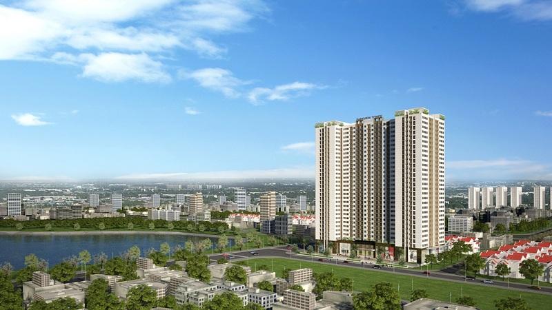 Phối cảnh chung cư Park View Tower Đồng Phát