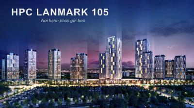 Chung cư HPC Landmark 105 Đẹp nhất đường Tố Hữu giá từ 25 Tr/m2