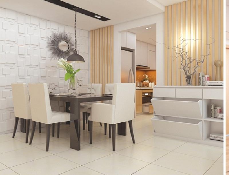 Phòng ăn chung cư Park View Đồng Phát