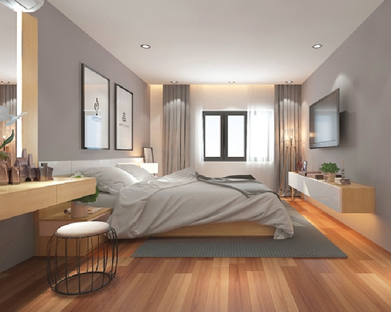 Phòng ngủ chung cư Park View Đồng Phát