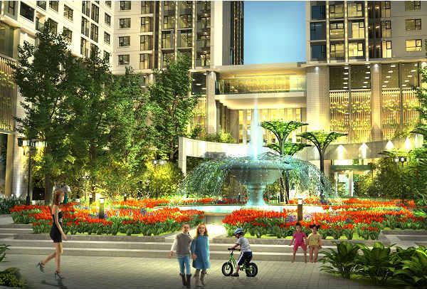 Tiện ích Quảng trường Trung Tâm Eco Green City