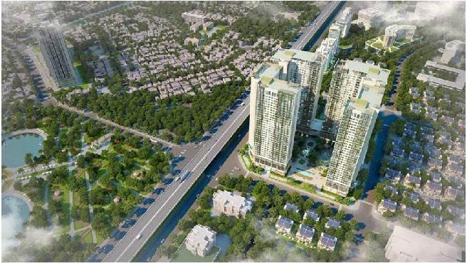Eco Green City tọa lạc ngay Vành Đai 3 Hà Nội