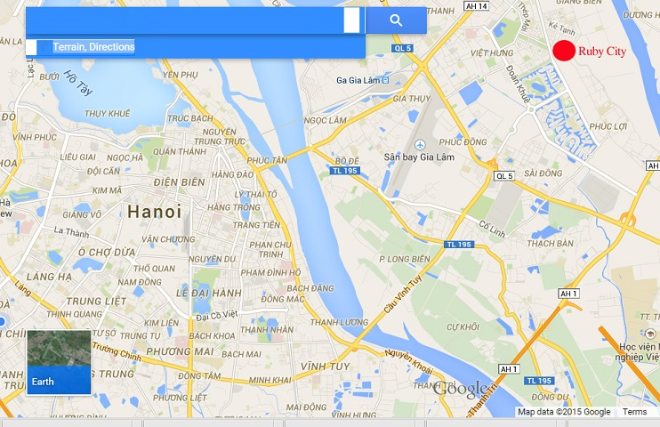 Vị trí đắc địa: Nhất cận Thị - Nhị cận Giang của Chung cư Ruby City Việt Hưng
