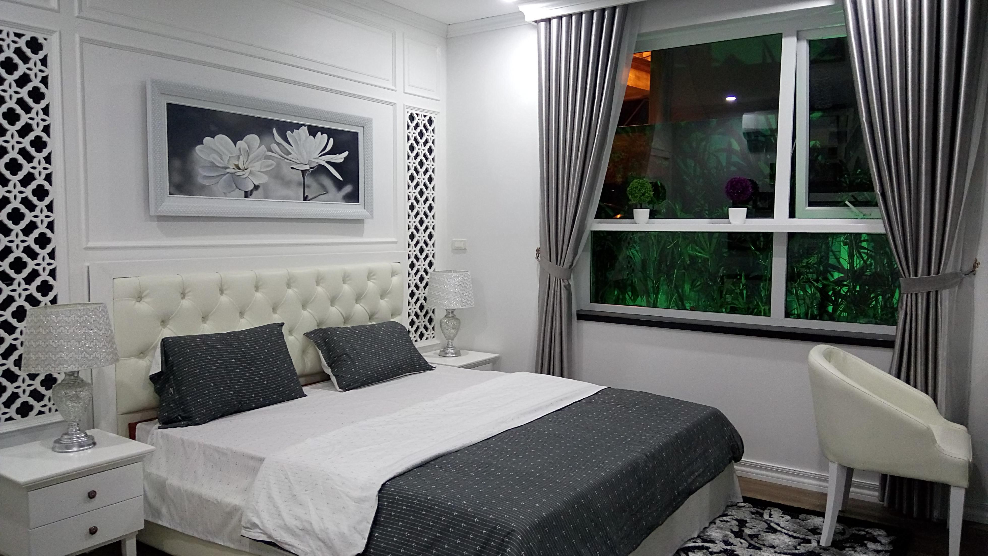 Phòng ngủ Master tại Riverside Garden rất đẹp