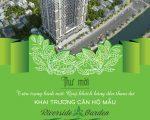SỰ KIỆN KHAI TRƯƠNG NHÀ MẪU + RA HÀNG ĐỢT 2 DỰ ÁN CHUNG CƯ VŨ TÔNG PHAN RIVERSIDE GARDEN
