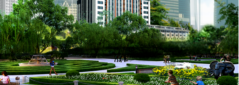 Công viên hồ Đầm Đẫy là điểm nhấn chính tạo dựng không gian sống xanh mát Chung cư Smile Building