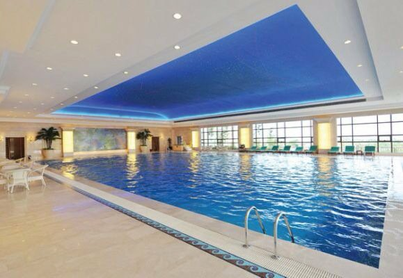 Tiện ích Bể bơi tại FLC Green Home 18 Phạm Hùng