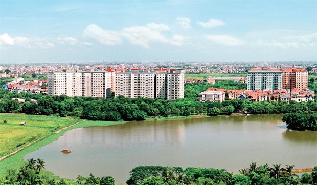 Hồ Linh Đàm là lá phổi xanh phía Nam thành phố