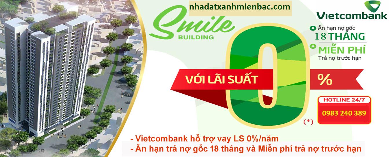 Chung cư Smile Building đường Nguyễn Cảnh Dị - KĐT Đại Kim - Hoàng Mai