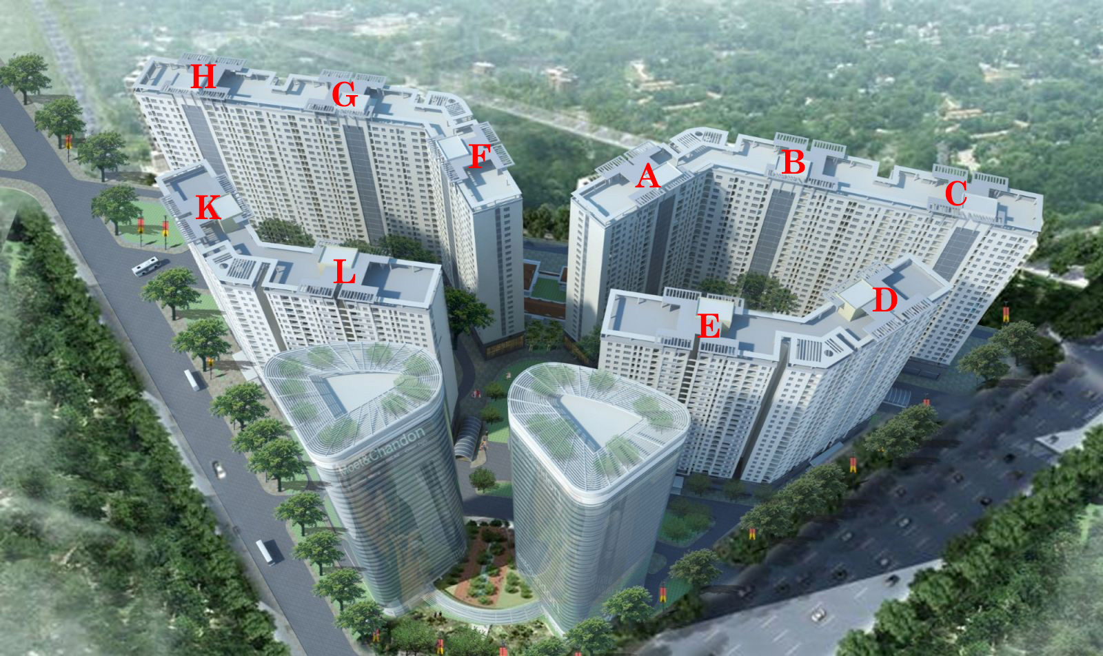 Tổ hợp Dự án Chung cư Xuân Mai Complex