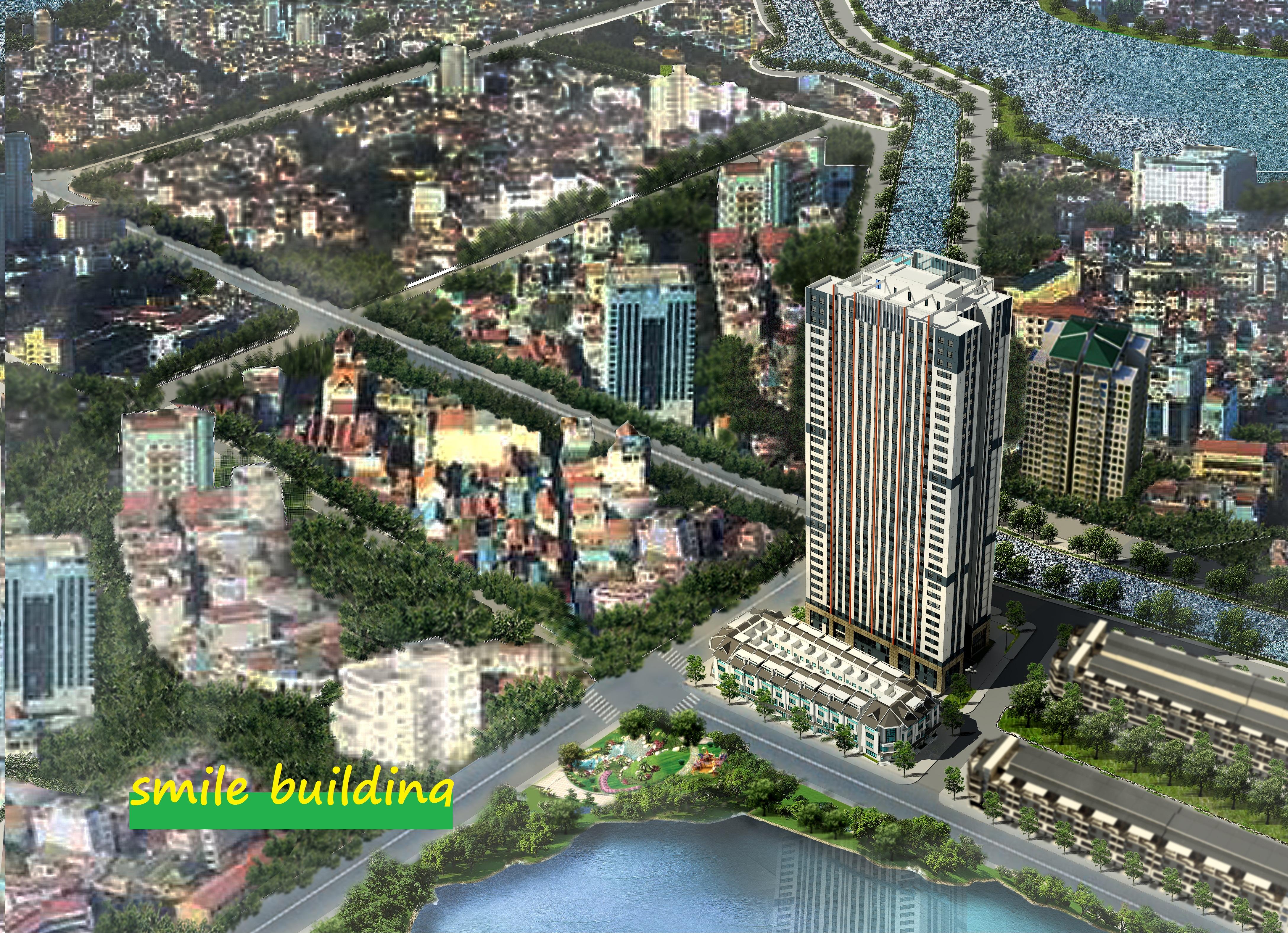 Smile Building thuần khiết Á Đồng - 35 Tầng cao nhất KĐT Đại Kim - Hoàng Mai