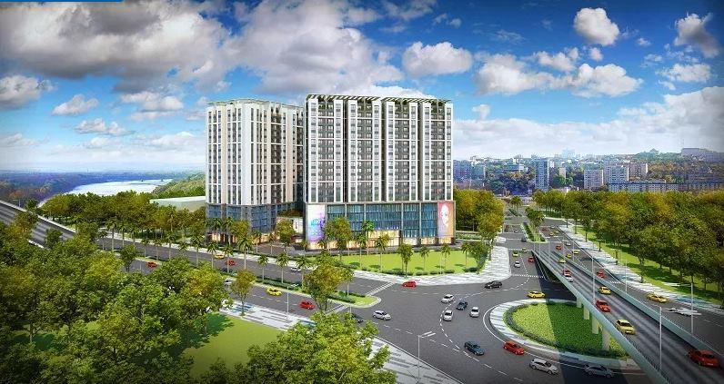 Phối cảnh dự án chung cư Northern Diamond Incomex Long Biên