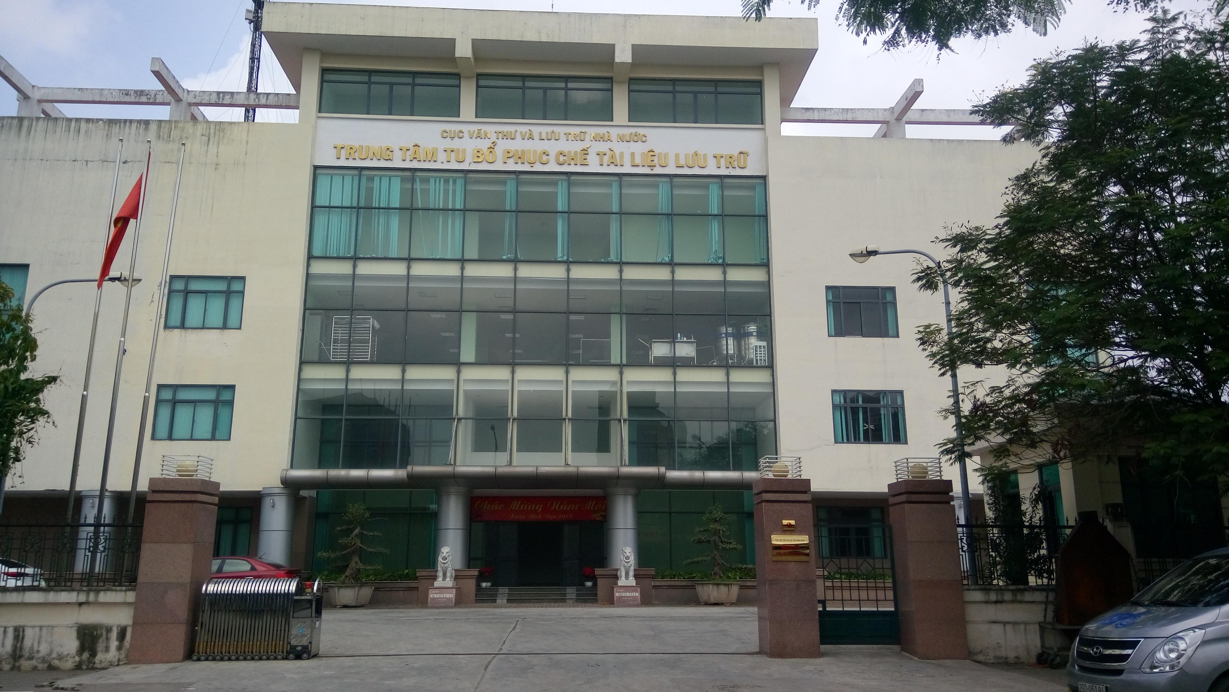 Trung tâm lưu trữ TP Hà Nội chỉ 5 tầng nên Ngọc Phương Bắc có đủ 4 mặt thoáng