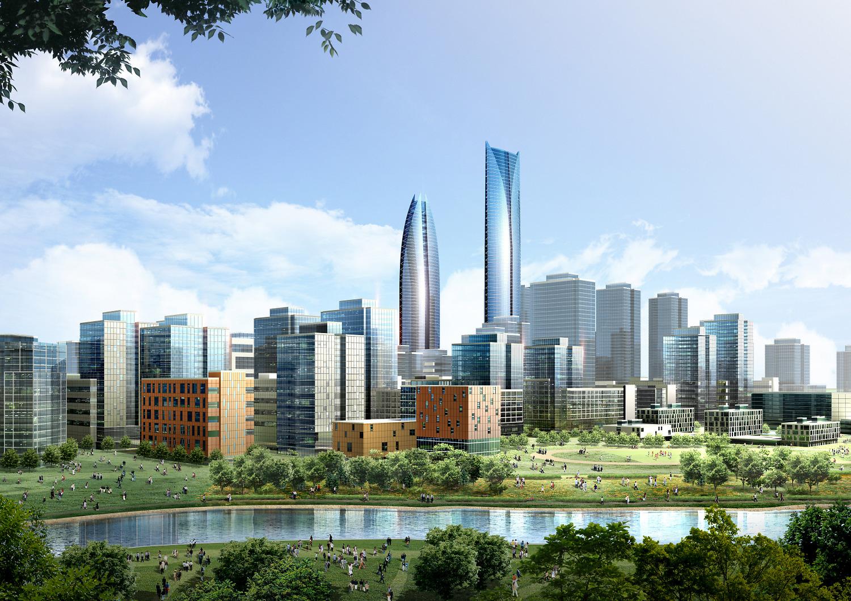 Dự án Vinhomes Smart City Cao Xà Lá bên dòng sông Tô Lịch hiền hòa