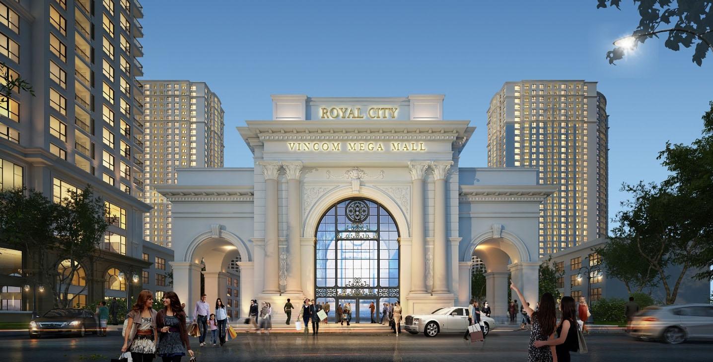 Royal City chắc chắn sẽ lu mờ trước Người em Vinhomes Smart City