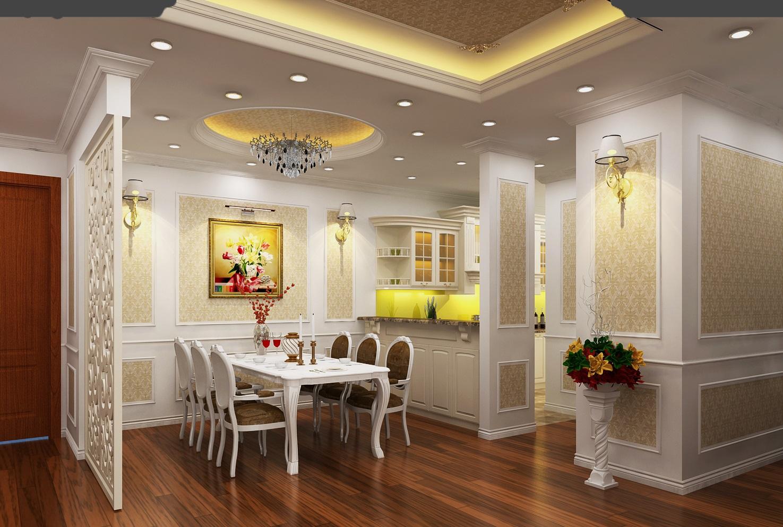 Khu vực nhà bếp chung cư 108 Nguyễn Trãi King Place