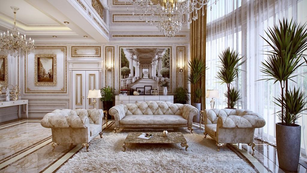 Nội thất Phòng khách Hoàng Gia tại King Palace 108 Nguyễn Trãi