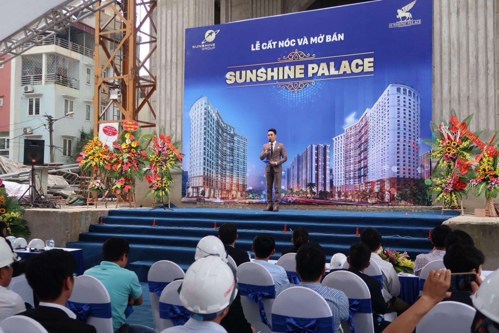 Lễ cất nóc và Mở bán Đợt 1 Dự án Sunshine Palace