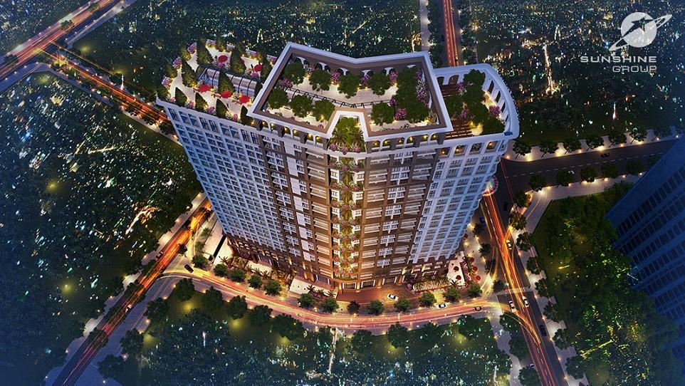 Chung cư Sunshine Palace quận Hoàng Mai
