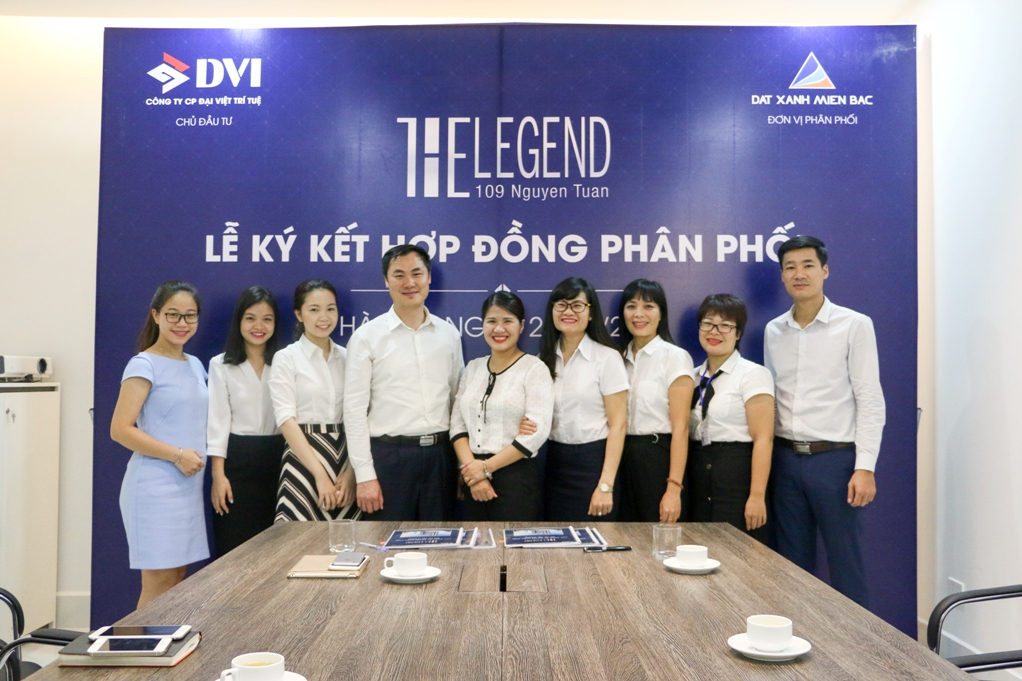 Ký kết Hợp đồng phân phối Dự án Chung cư The Legend 109 Nguyễn Tuân