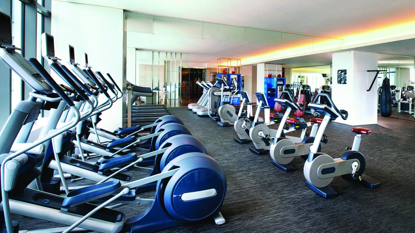 Phòng tập gym tại Chung cư The Legend 109 Nguyễn Tuân