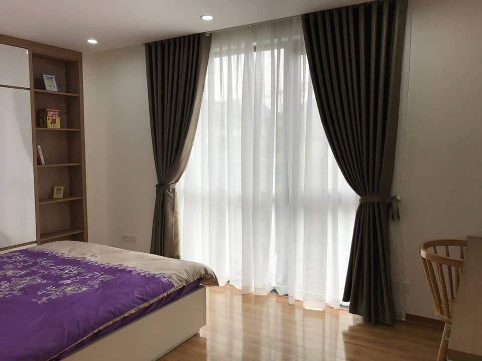 phòng ngủ căn hộ chung cư Thống Nhất Complex