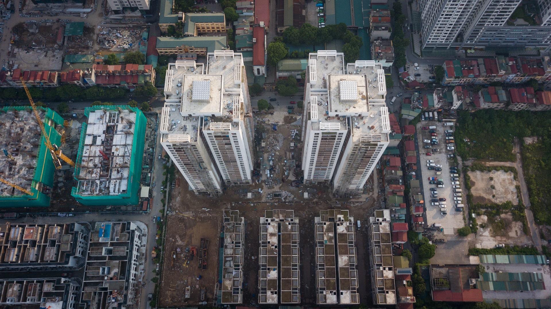 flycam dự án Thống Nhất Complex