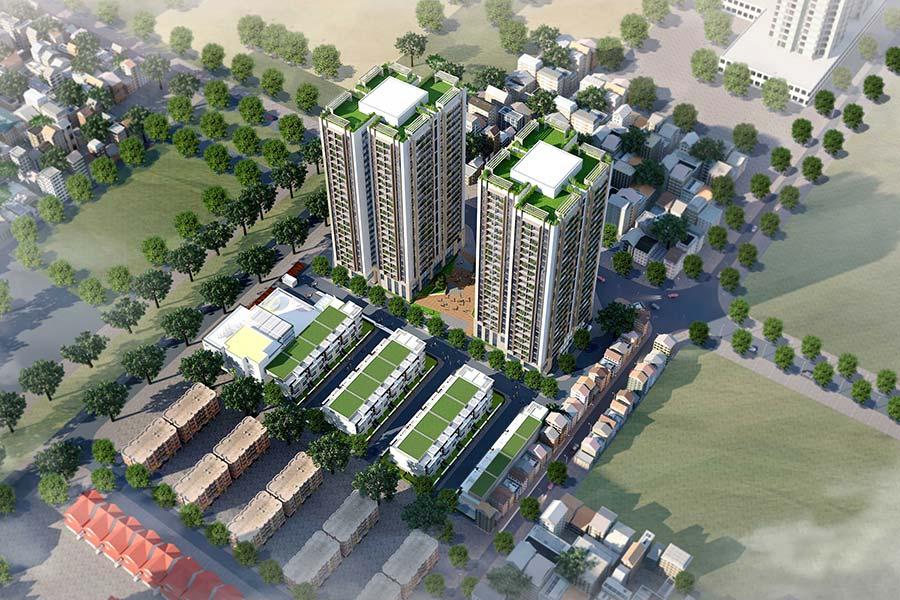 Liền kề 82 Nguyễn Tuân trong tổng thể Dự án