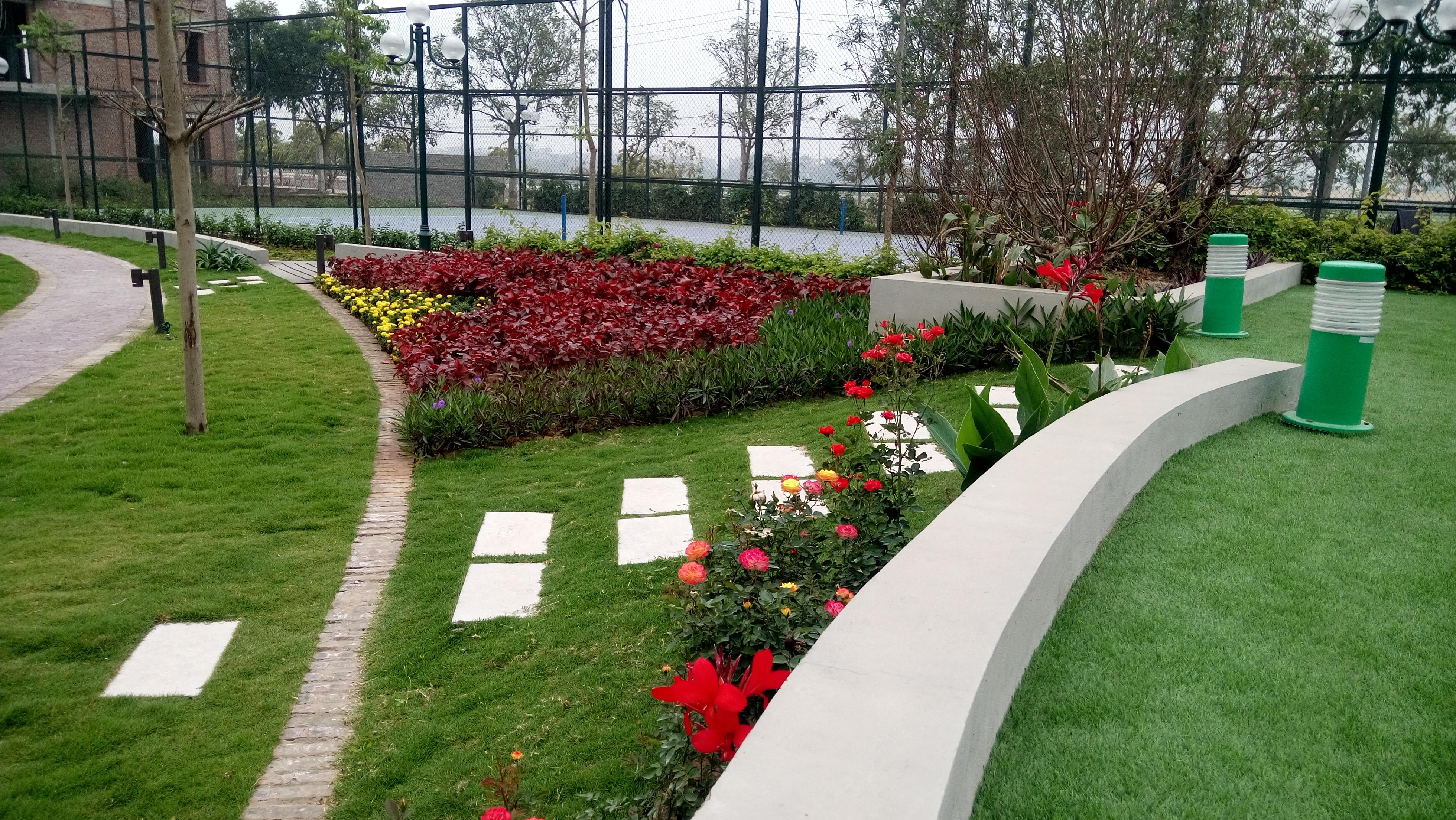 Cảnh quan tươi đẹp, đầy sức sống dự án CT15 Việt Hưng Green Park