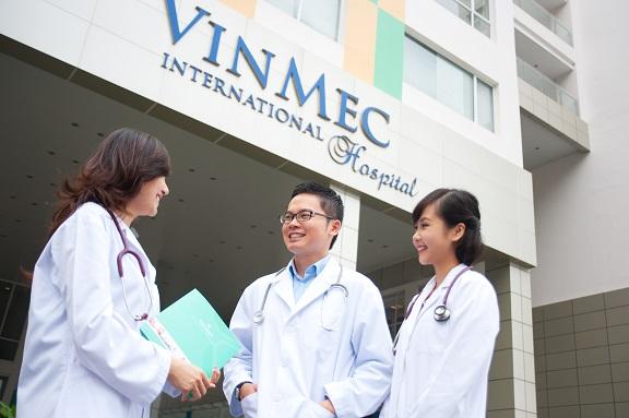 Bệnh viện Vinmec là tiện ích then chốt của dự án Siêu cao cấp Vinhomes Giảng Võ